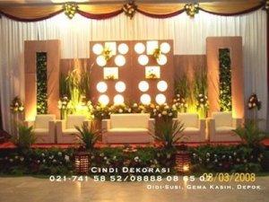 dekorasi pengantin